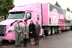 Conductrices de camions: objectif 10 %